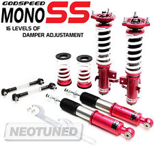 FOR CIVIC 14-15 SI GODSPEED MONO-SS DAMPER COILOVER SUSPENSION CAMBER PLATE