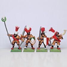 Empire Armée Âge de Sigmar Reiksguard commande X4 Champion Standard musicien METAL