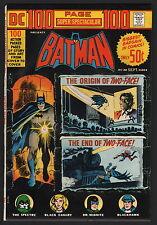 DC 100 PAGE SUPER SPECTACULAR, #DC-20, 1973, NM CONDITION COPY, BATMAN