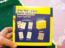 400 Piece Math Skills Flash Card Set by Learning Playground