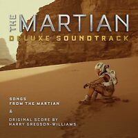 The Martian(DELUXE EDITION) Soundtrack 2CD NEW+ ABBA/GLORIA GAYNOR/DONNA SUMMER