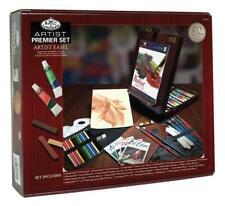 Artist Premiere Easel Set 102 Pcs Royal Langnickel Paints Pastels Brushes Guides