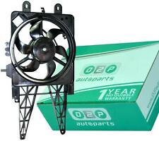 RADIATOR COOLING FAN WITH MOTOR FOR FIAT PUNTO 188 1.2 PETROL 46785738, 51742164