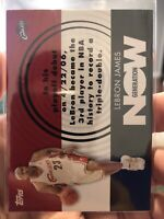 2007-08 Topps Basketball - Generation Now - #GN1 - LEBRON JAMES - Cavaliers QTY