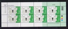 CYPRUS 2020 BUTTERFLIES MNH SET STAMPS IN SHEET OF 8