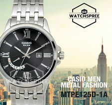 Casio Men's Analog Watch MTPE125D-1A MTP-E125D-1A