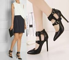 Strappy Medium Width (B, M) Unbranded Slim Heels for Women
