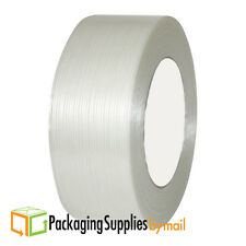 "24 Rolls Economy Filament Strapping Tape 3/4"" x 60 Yards 3.9 MIL Reinforced"