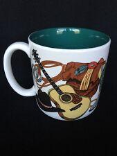 Vintage Western Cowboy Saddles Boots 1993 Creative Concepts Coffee Mug