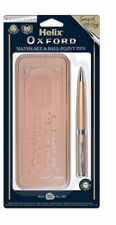 Helix Oxford Maths Set + Pen Limited Edition 2018 in Rose Gold - Ideal Gift