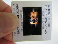 More details for original press photo slide negative - rod stewart & rachel hunter - 1995 - e