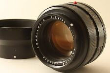 Excellent! Leica Summilux-R 50mm f/1.4 Germany lens and hood 50