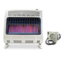 Mr. Heater 30K Vent Free Blue Flame Propane Heater with Blower
