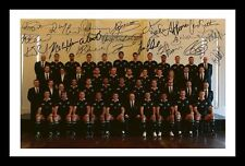 ALL BLACKS 2011 RUGBY WORLD CUP AUTOGRAPHED SIGNED & FRAMED PP POSTER PHOTO
