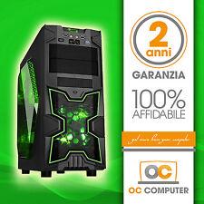PC DESKTOP COMPUTER SEMI ASSEMBLATO INTEL QUAD CORE I5 4460/RAM 16GB/ FISSO