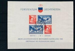 [G43885] liechtenstein 1936 Good sheet Very Fine used