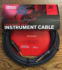 Planet Waves Daddario PW-AG-30 Circuit Breaker Cables 30 foot