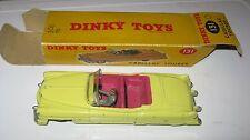 DINKY 131 CADILLAC TOURER ORIGINAL VERY GOOD ORIGINAL IN GOOD ORIGINAL WORN BOX.