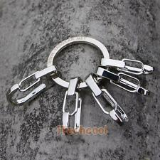 Alloy Carabiner Camp Snap Clip Hook Keychain Keyring Hiking Climbing Tool #T1K