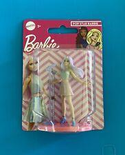 "Mattel Pop Star Singer Barbie 3"" Mini Figure Cake Topper. New in package."