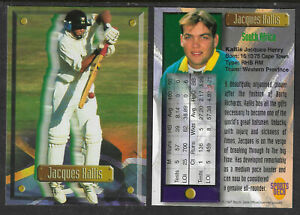 JACQUES KALLIS (South Africa) 1997 South Africa SPORTS DECK CRICKET CARD #10