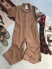 Vintage 50's 60's Us Fish Wildlife Park Service Coveralls Overalls Patch Nwot 44