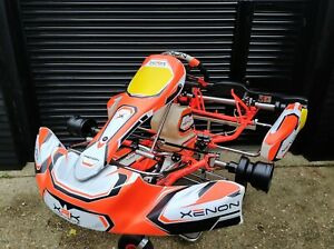2020 Xenon Kart Rolling Chassis, Rotax, X30, Karting