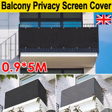 More details for 5m privacy garden fence panel cover balcony uv protection shade screen sunshade