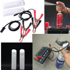 Universal Fuel Injector Flush Cleaner Adapter Auto Car Vehicles Tool DIY Kit Set