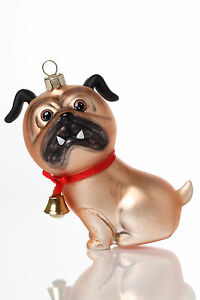 Inge Glas Crazy Dogs No. 5 - Verrückter Hund Weihnachtsschmuck Christbaumschmuck