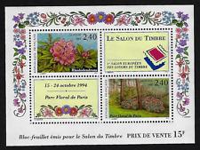France Stamps -Souvenir Sheet -1994 ʺ1er Salon du Timbre: Fleursʺ Sc. #2395 -MNH