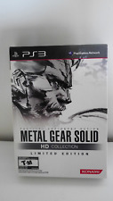 METAL GEAR SOLID HD COLLECTION LIMITED EDITION PS3