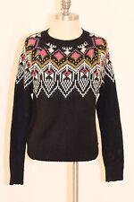 Forever 21 Fairisle Sweater Sz Small