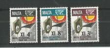 MALTA 1968 INTERNATIONAL TRADE FAIR SG,402-404 UM/M NH LOT 2377A