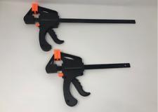 NEW 150/300/600mm QUICK RAPID BAR CLAMP RATCHET SPREADER VICE CARPENTER GRIP
