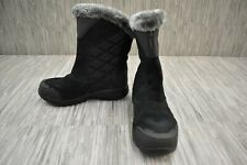Columbia Ice Maiden II Slip Winter Boots, Women's Size 7, Black