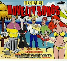 THE GREATEST NOVELTY SONGS 75 ORIGINAL RECORDINGS MY OLD MANS A DUST MAN & MORE