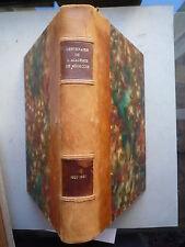1921 CENTENAIRE DE L'ACADEMIE DE MEDECINE 1820 1920 CHEZ MASSON PARIS