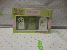 Crabtree & Evelyn LILY Travel Size Set Shower Gel / Lotion And Hand Therapy