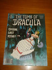TOMB OF DRACULA #6 VF (8.0) AUGUST 1980 MARVEL HORROR MAGAZINE (A)