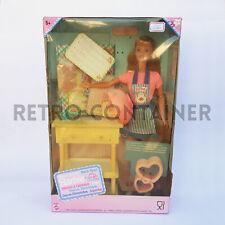 BARBIE MATTEL - Vintage Barbie Sweet Treats Chef Pasticceria Cucina NEW MISB