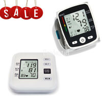 Health Care Digital Blood Pressure Monitor Upper ARM/Wrist Monitoring LCD screen