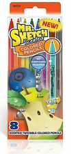 Mr. Sketch Scented Twist Colored Pencils 8-Pk Assorted Colors 16-pencils 2-pks