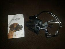 """""""Barkless"""" Silicone Basket Dog Muzzle Size 1 Adjustable"""
