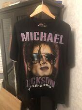 Michael Jackson Vintage Style Memorial T Shirt Size Large