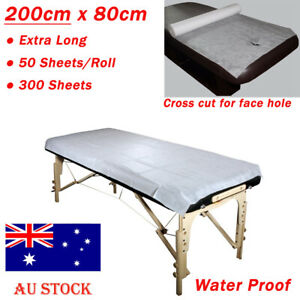 50/100 Disposable Bed Sheet Non-woven Massage Beauty SPA Salon Table Cover