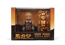 Medicom Toy Box Set Kubrick + Bearbrick 100% SAIYUKI SON GOKU monkey magic NEW