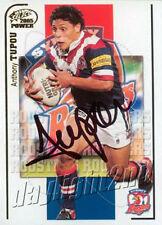 ✺Signed✺ 2005 SYDNEY ROOSTERS NRL Card ANTHONY TUPOU