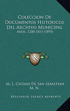 Coleccion De Documentos Historicos Del Archivo Municipal: Anos, 1200-1813 (1895)