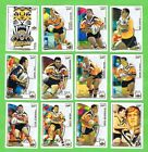 2002 WESTS TIGERS SELECT NRL CHALLENGE RUGBY LEAGUE CARDS